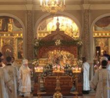 Престольный праздник в Новодевичьем монастыре