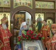 Престольный праздник храма в честь Усекновения главы Иоанна Предтечи у стен Новодевичьего монастыря
